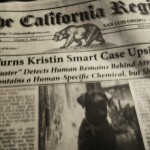 a shot of the hard copy. The California Register. January 2015. Buster the cadaver-sniffing dog is featured; so is police corruption/laziness and/or incompetence.